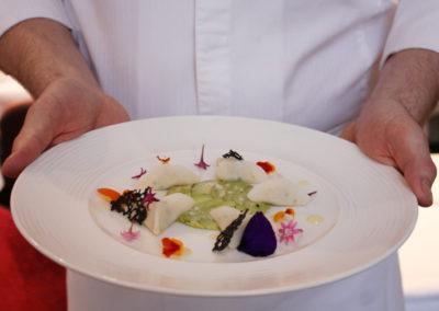 Restaurant-plat + chef